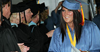 Student graduating, Link to the EICC Programs listing