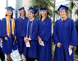 Scott Community College graduates