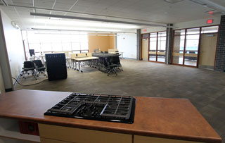 Cooking Lab classroom of West Davenport Center