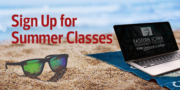 Sign Up for Summer Classes, link goes to information about the summer semester