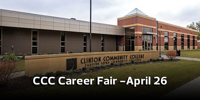 CCC Career Fair - April 26, link goes to event information