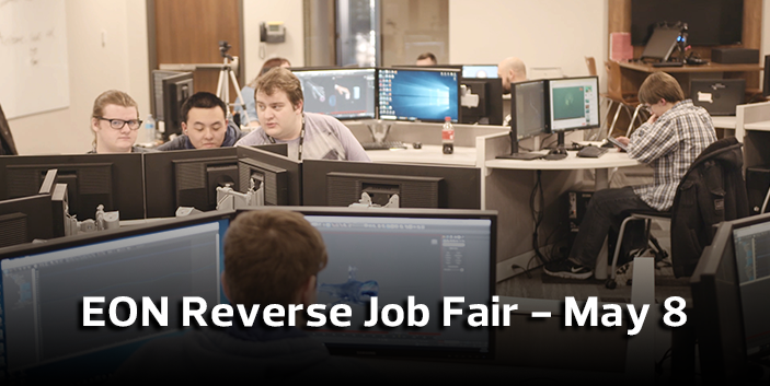 EON Reverse Job Fair - May 8, link goes to event information