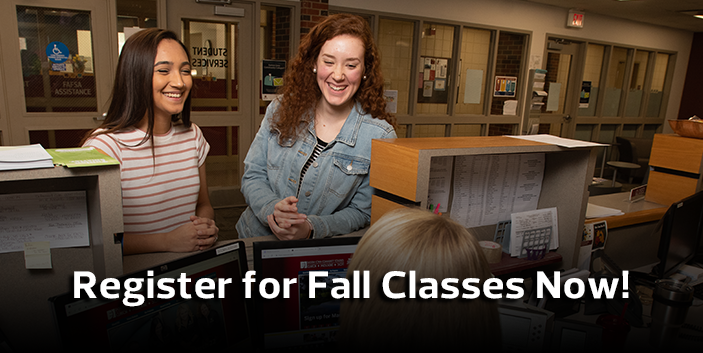 Register for Fall Classes Now!