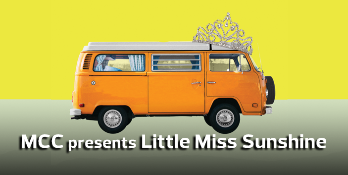 MCC presents Little Miss Sunshine, link goes to event information