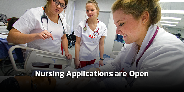 Nursing Applications for Fall 2017 are now open