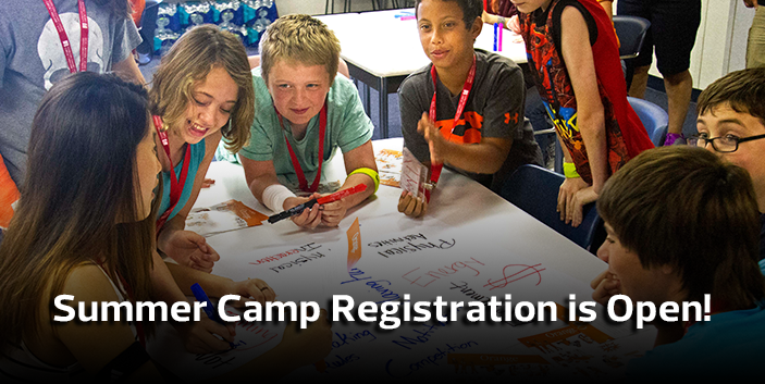 Summer Camp Registration is Open! Link goes to summer camp information