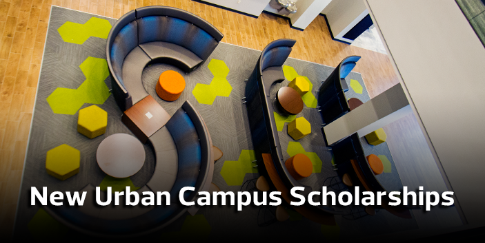 New Urban Campus Scholarship, link goes to scholarship information